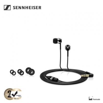 Sennheiser CX 1.00 Bass Driven Wired In-Ear Earphones (Black)