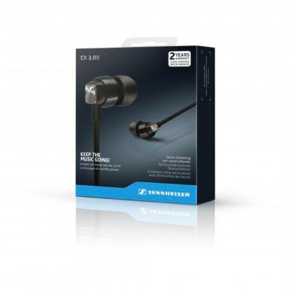 Sennheiser CX 3.00 Enhanced Bass Wired Earphones (White)