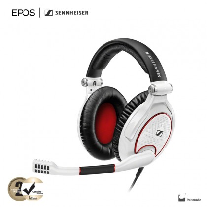 EPOS | Sennheiser GAME ZERO Closed-Back Gaming Headset for PC, Mac, PS4 and Xbox One (White)