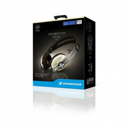 Sennheiser MOMENTUM 2.0 Over Ear Stereo Headphones for iOS Devices ( M2 AEI Ivory)