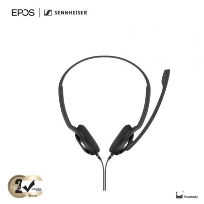 EPOS | Sennheiser PC 3 CHAT - Stereo Chat Headset for Internet Telephony, Voip, Skype