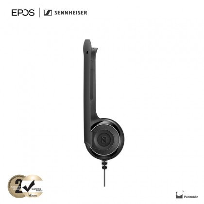 EPOS   Sennheiser PC 8 USB - USB Stereo PC Headset with Noise Cancelling Microphone