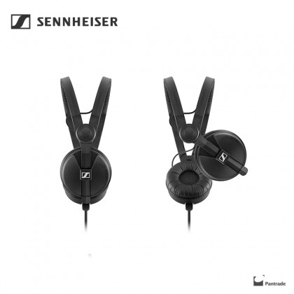 Sennheiser HD 25 Plus On Ear DJ Headphone - Black