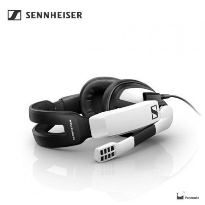 Sennheiser GSP 301 Closed Back Gaming Headset for PC, Mac, PS4 and Xbox One, black and White