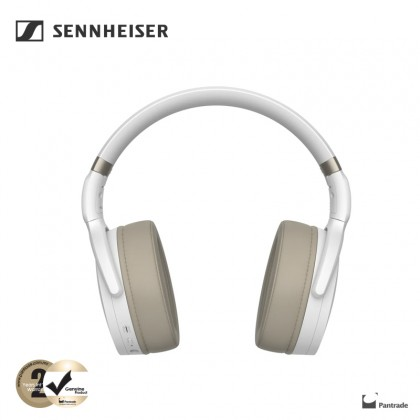 Sennheiser HD450BT Wireless Headphones ( Black / White )