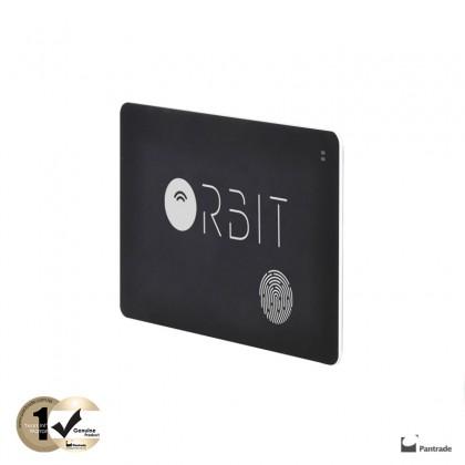 Orbit Tracker Card Black / selfie / Wallet or Purse Finder