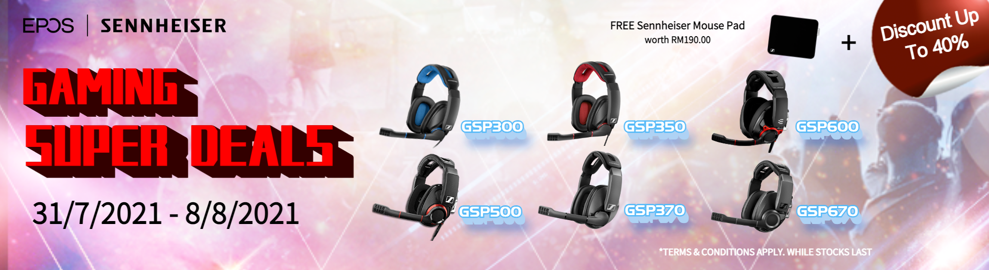 EPOS Gaming Super Deals